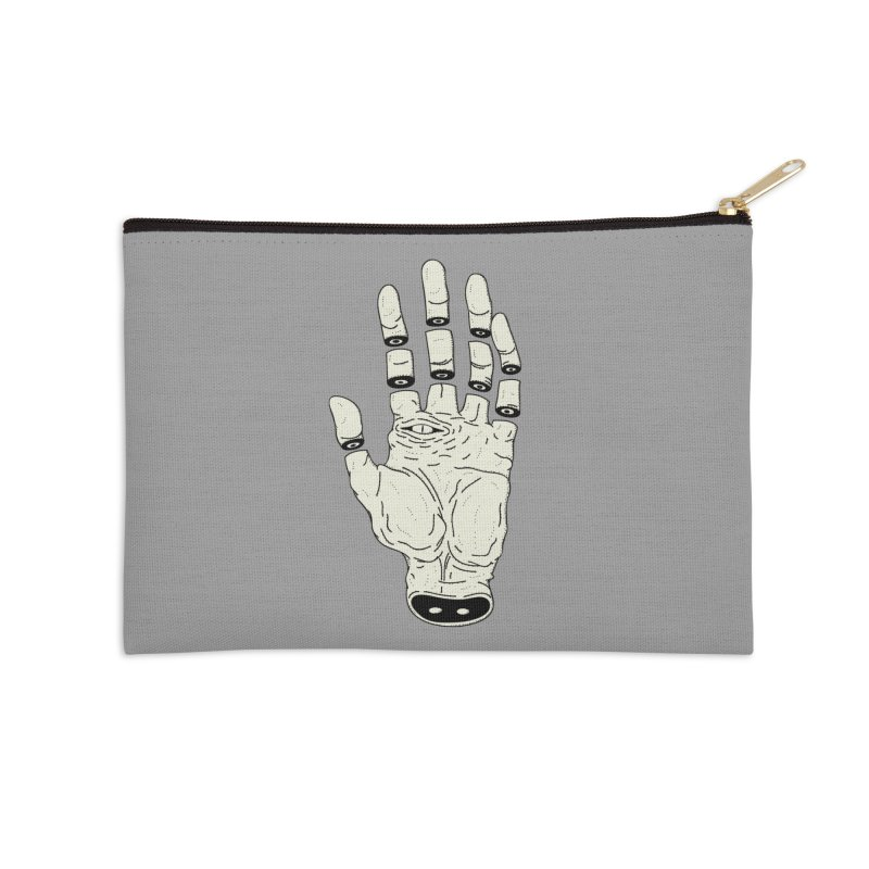 THE HAND OF DESTINY - LA MANO DEL DESTINO Accessories Zip Pouch by UNDEAD MISTER