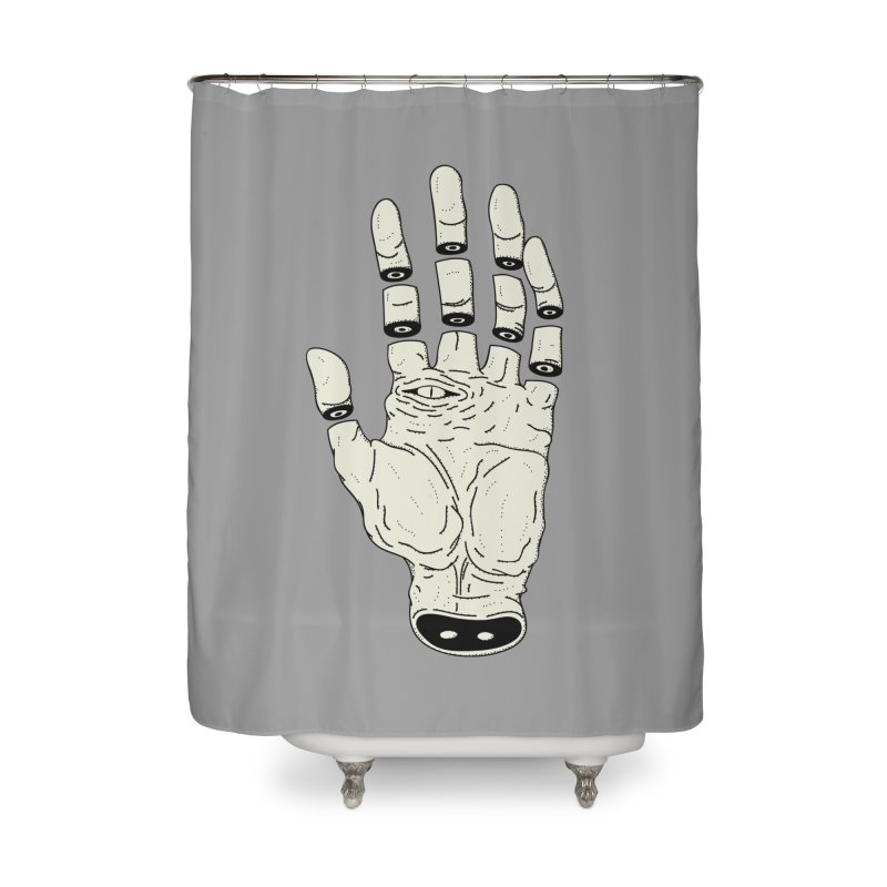 THE HAND OF DESTINY - LA MANO DEL DESTINO Home Shower Curtain by UNDEAD MISTER