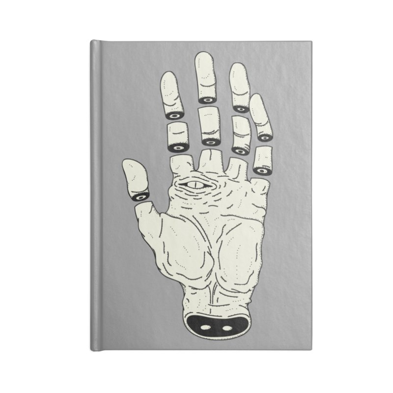 THE HAND OF DESTINY - LA MANO DEL DESTINO Accessories Notebook by UNDEAD MISTER