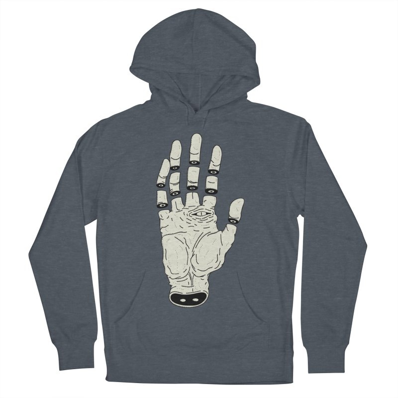 THE HAND OF ANOTHER DESTINY - LA MANO DEL OTRO DESTINO Women's French Terry Pullover Hoody by UNDEAD MISTER