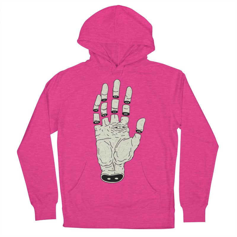 THE HAND OF ANOTHER DESTINY - LA MANO DEL OTRO DESTINO Women's Pullover Hoody by UNDEAD MISTER