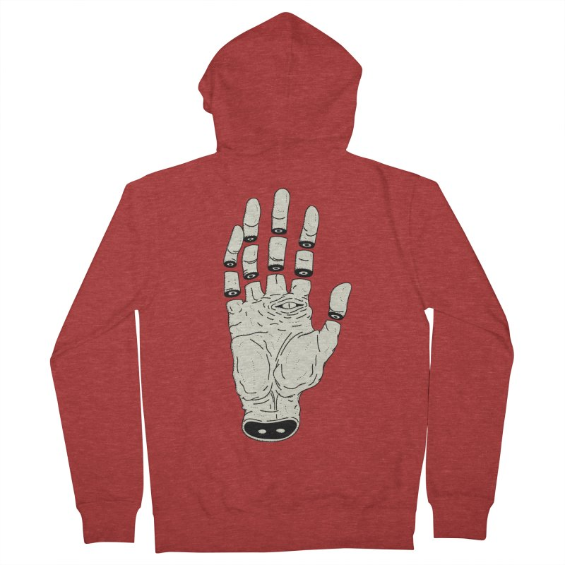THE HAND OF ANOTHER DESTINY - LA MANO DEL OTRO DESTINO Women's Zip-Up Hoody by UNDEAD MISTER
