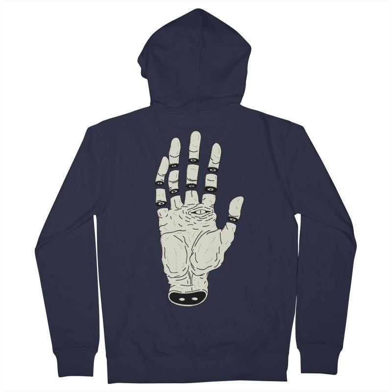 THE HAND OF ANOTHER DESTINY - LA MANO DEL OTRO DESTINO Women's Zip-Up Hoody by UNDEAD MISTER