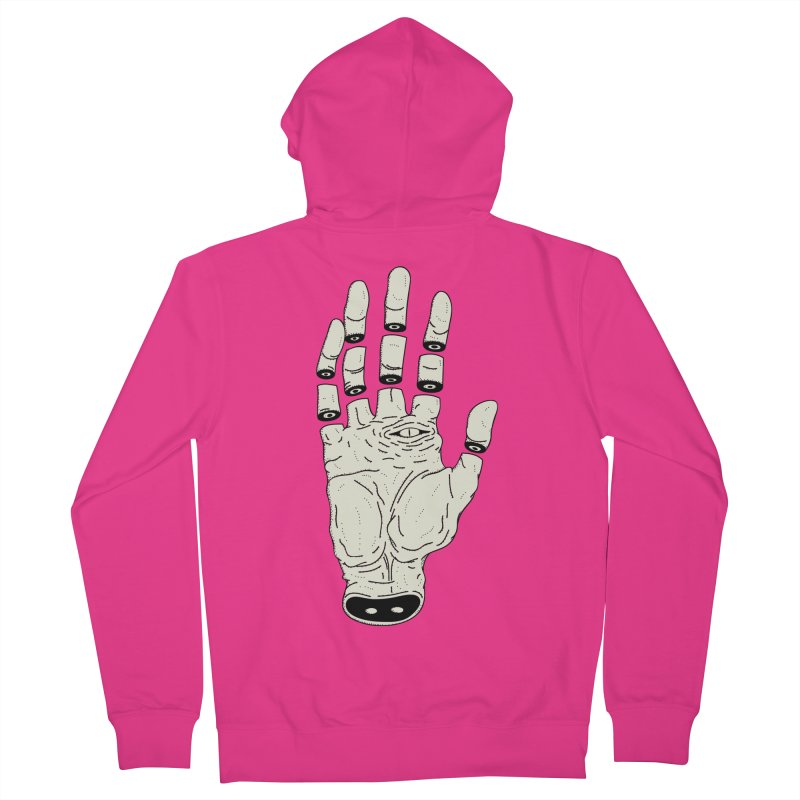 THE HAND OF ANOTHER DESTINY - LA MANO DEL OTRO DESTINO Men's Zip-Up Hoody by UNDEAD MISTER