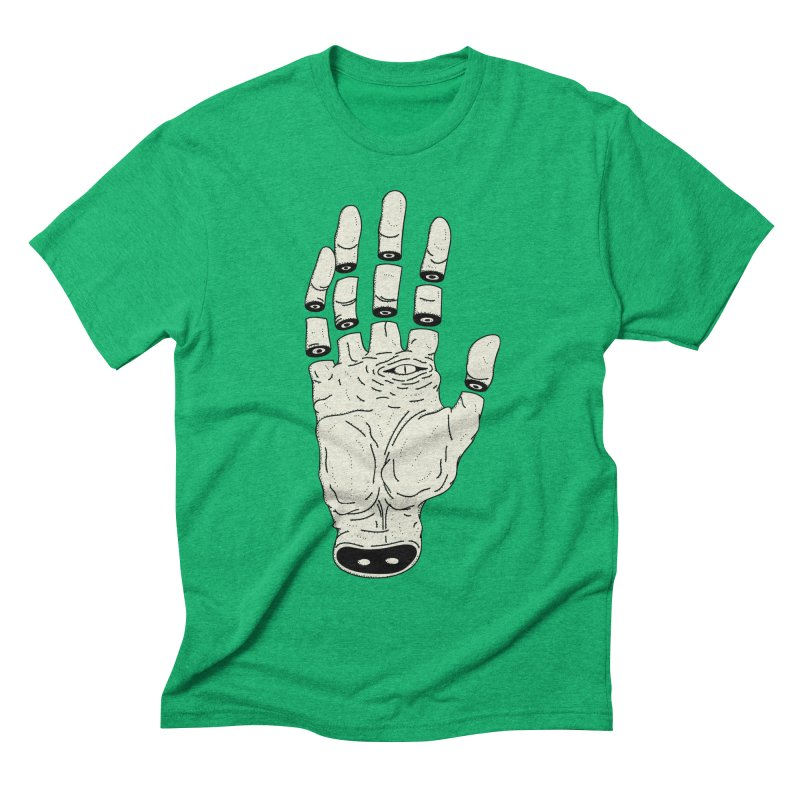 THE HAND OF ANOTHER DESTINY - LA MANO DEL OTRO DESTINO Men's Triblend T-Shirt by UNDEAD MISTER