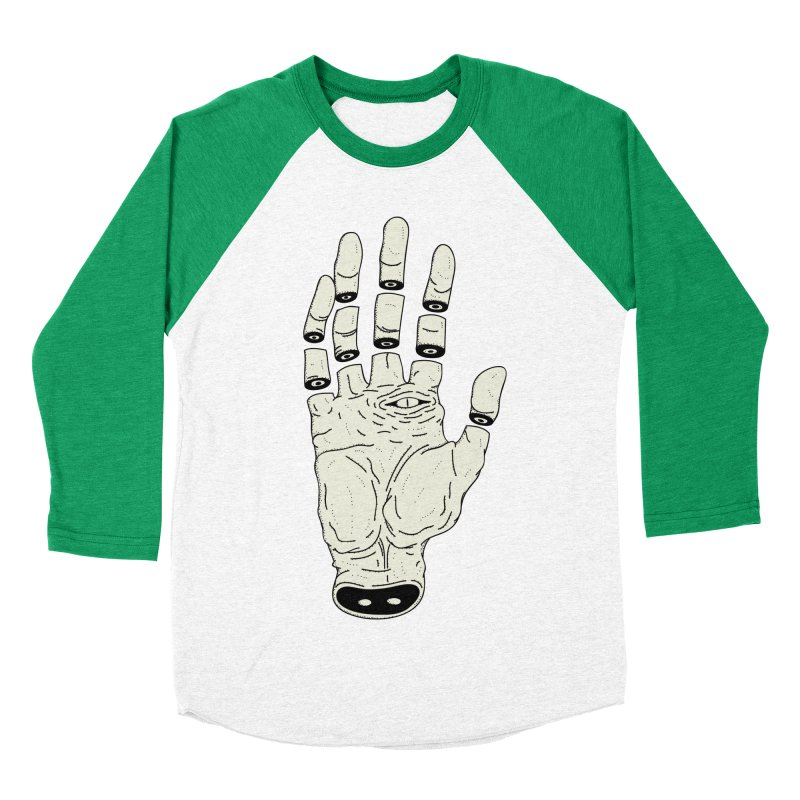 THE HAND OF ANOTHER DESTINY - LA MANO DEL OTRO DESTINO Women's Baseball Triblend T-Shirt by UNDEAD MISTER