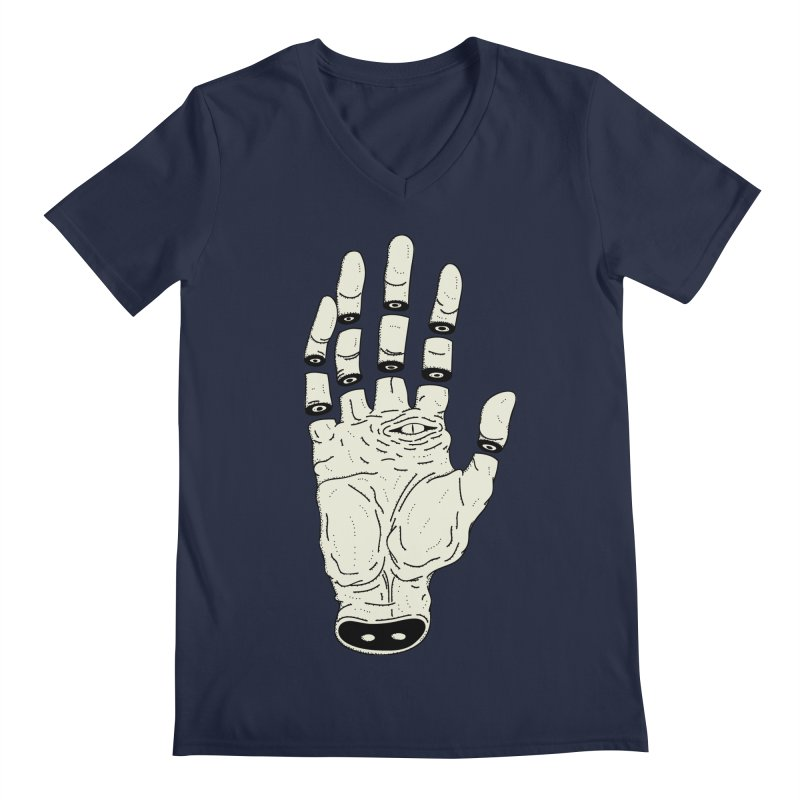 THE HAND OF ANOTHER DESTINY - LA MANO DEL OTRO DESTINO Men's V-Neck by UNDEAD MISTER