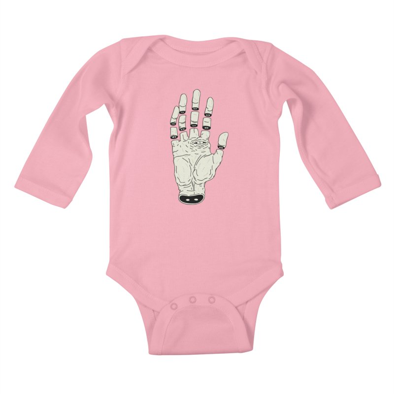 THE HAND OF ANOTHER DESTINY - LA MANO DEL OTRO DESTINO Kids Baby Longsleeve Bodysuit by UNDEAD MISTER