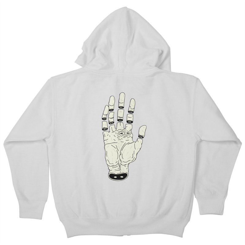 THE HAND OF ANOTHER DESTINY - LA MANO DEL OTRO DESTINO Kids Zip-Up Hoody by UNDEAD MISTER