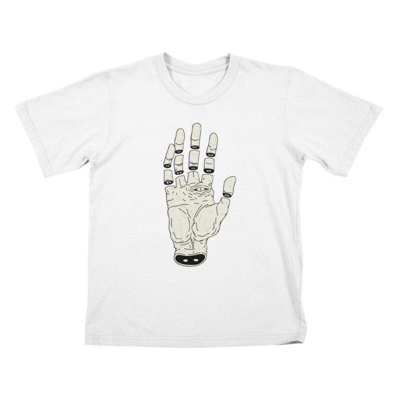 THE HAND OF ANOTHER DESTINY - LA MANO DEL OTRO DESTINO Kids T-shirt by UNDEAD MISTER