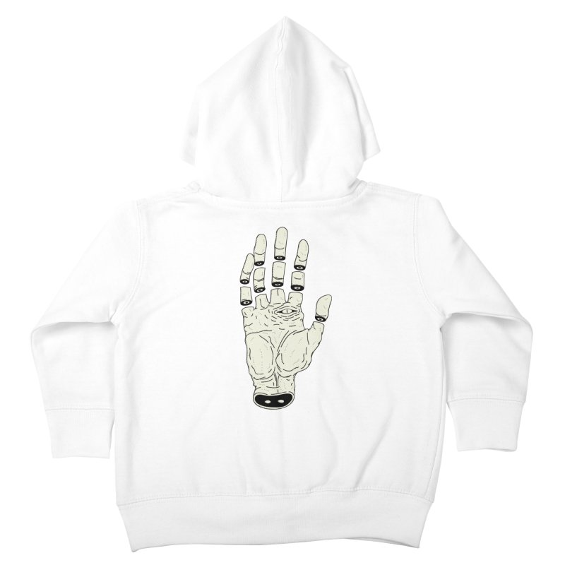 THE HAND OF ANOTHER DESTINY - LA MANO DEL OTRO DESTINO Kids Toddler Zip-Up Hoody by UNDEAD MISTER