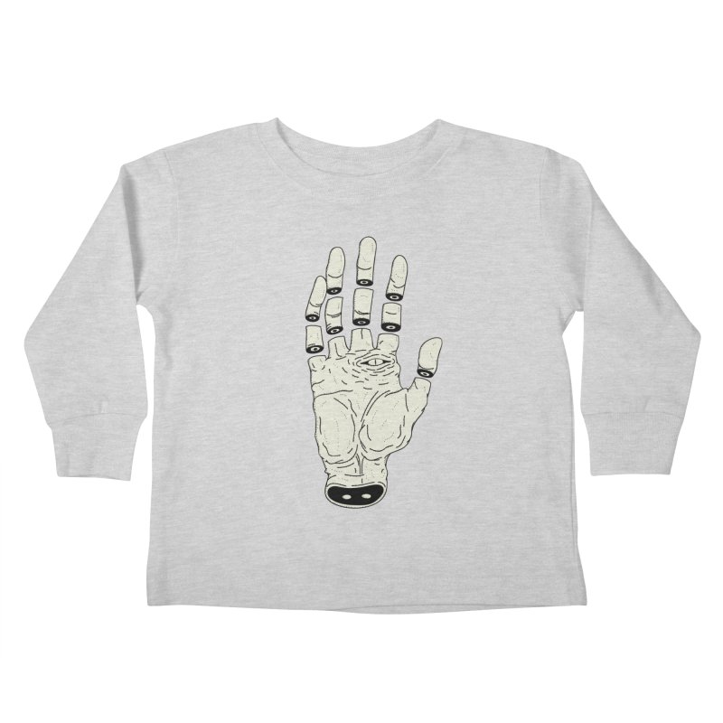 THE HAND OF ANOTHER DESTINY - LA MANO DEL OTRO DESTINO Kids Toddler Longsleeve T-Shirt by UNDEAD MISTER