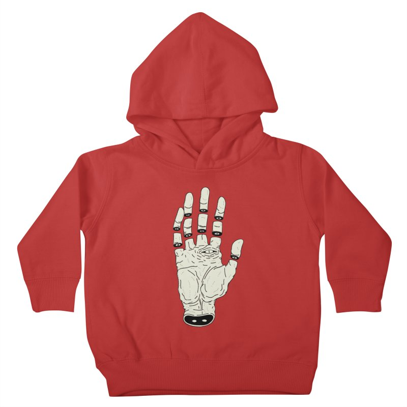 THE HAND OF ANOTHER DESTINY - LA MANO DEL OTRO DESTINO Kids Toddler Pullover Hoody by UNDEAD MISTER