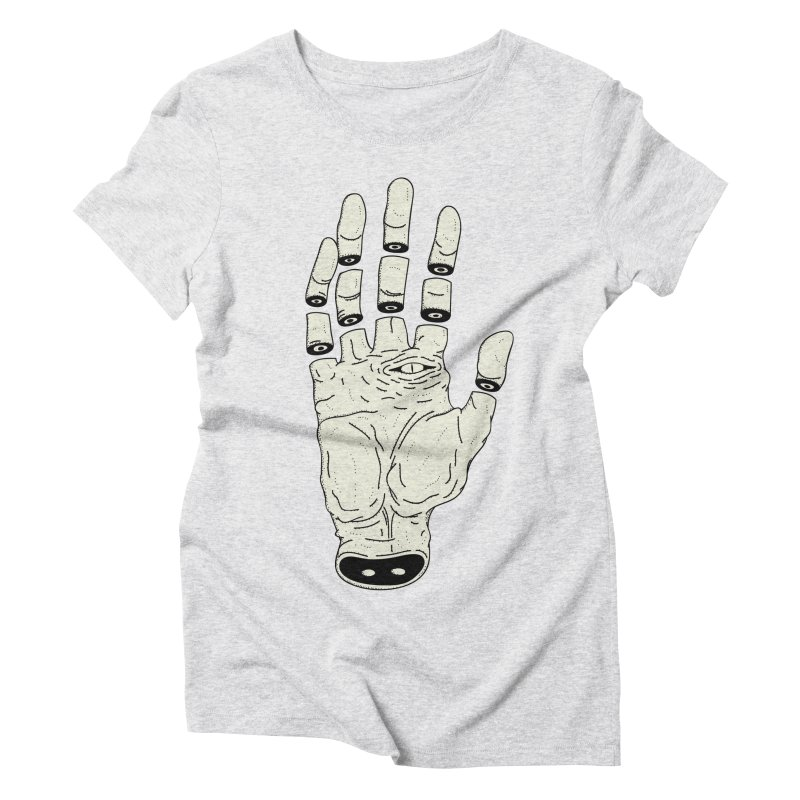 THE HAND OF ANOTHER DESTINY - LA MANO DEL OTRO DESTINO Women's Triblend T-shirt by UNDEAD MISTER