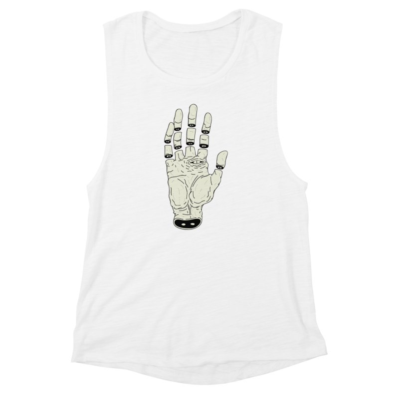THE HAND OF ANOTHER DESTINY - LA MANO DEL OTRO DESTINO Women's Muscle Tank by UNDEAD MISTER