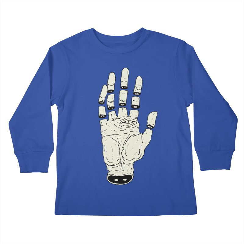 THE HAND OF ANOTHER DESTINY - LA MANO DEL OTRO DESTINO Kids Longsleeve T-Shirt by UNDEAD MISTER