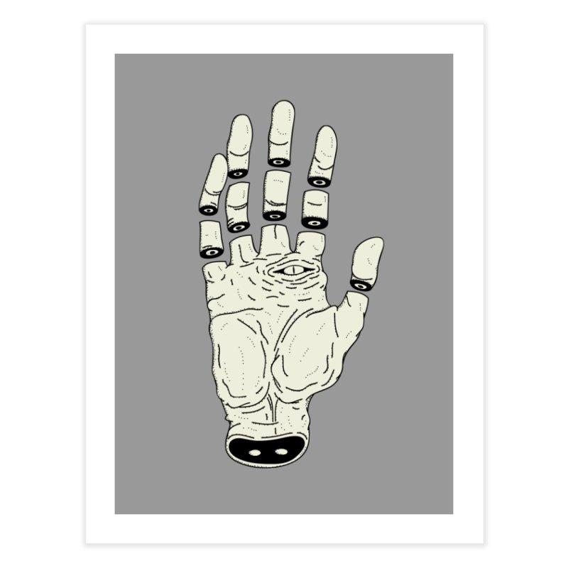 THE HAND OF ANOTHER DESTINY - LA MANO DEL OTRO DESTINO Home Fine Art Print by UNDEAD MISTER