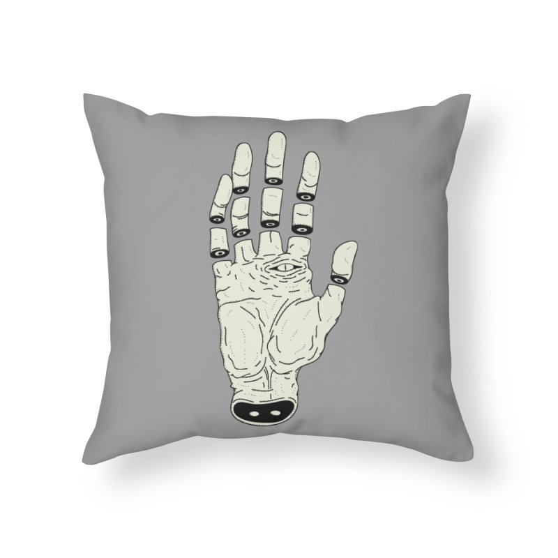 THE HAND OF ANOTHER DESTINY - LA MANO DEL OTRO DESTINO Home Throw Pillow by UNDEAD MISTER