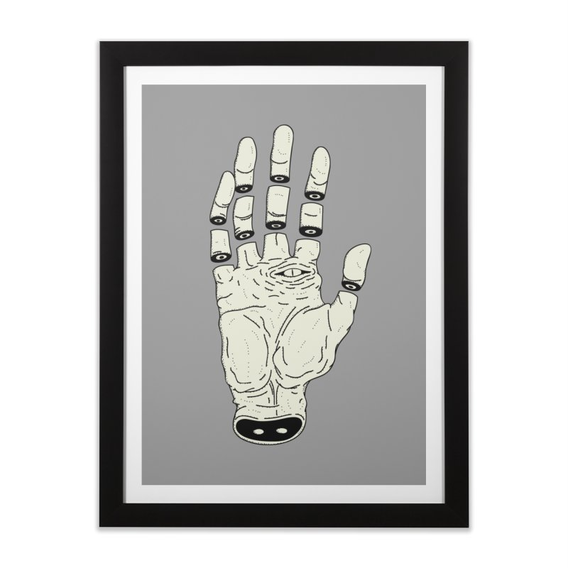 THE HAND OF ANOTHER DESTINY - LA MANO DEL OTRO DESTINO Home Framed Fine Art Print by UNDEAD MISTER