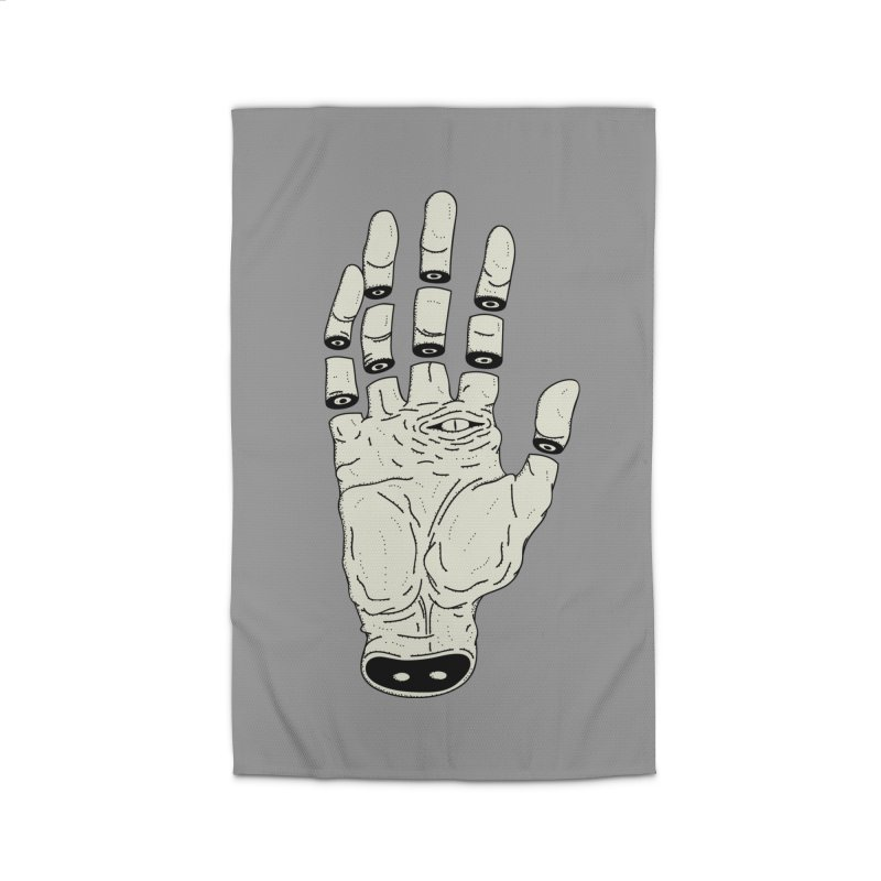 THE HAND OF ANOTHER DESTINY - LA MANO DEL OTRO DESTINO Home Rug by UNDEAD MISTER