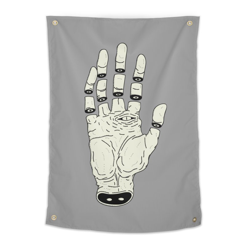 THE HAND OF ANOTHER DESTINY - LA MANO DEL OTRO DESTINO Home Tapestry by UNDEAD MISTER