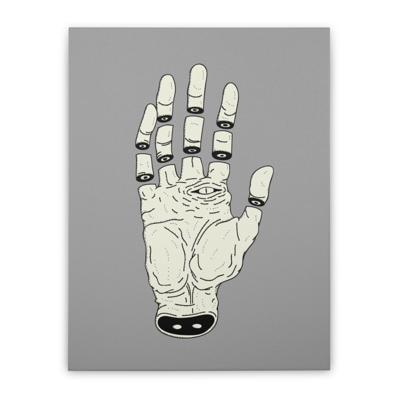 THE HAND OF ANOTHER DESTINY - LA MANO DEL OTRO DESTINO Home Stretched Canvas by UNDEAD MISTER
