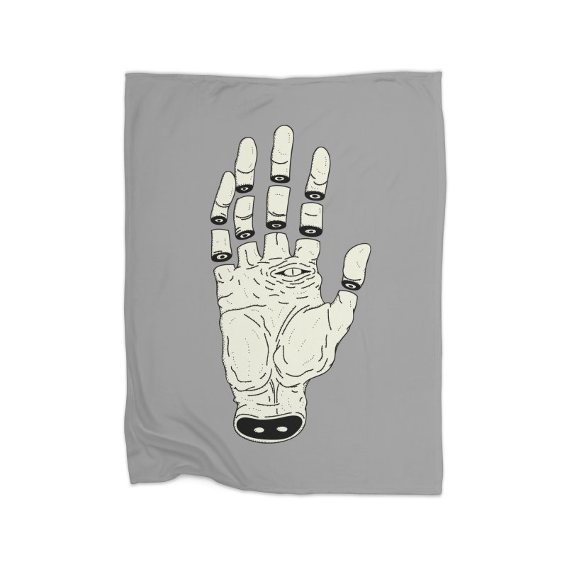 THE HAND OF ANOTHER DESTINY - LA MANO DEL OTRO DESTINO Home Blanket by UNDEAD MISTER