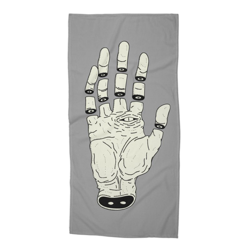 THE HAND OF ANOTHER DESTINY - LA MANO DEL OTRO DESTINO Accessories Beach Towel by UNDEAD MISTER