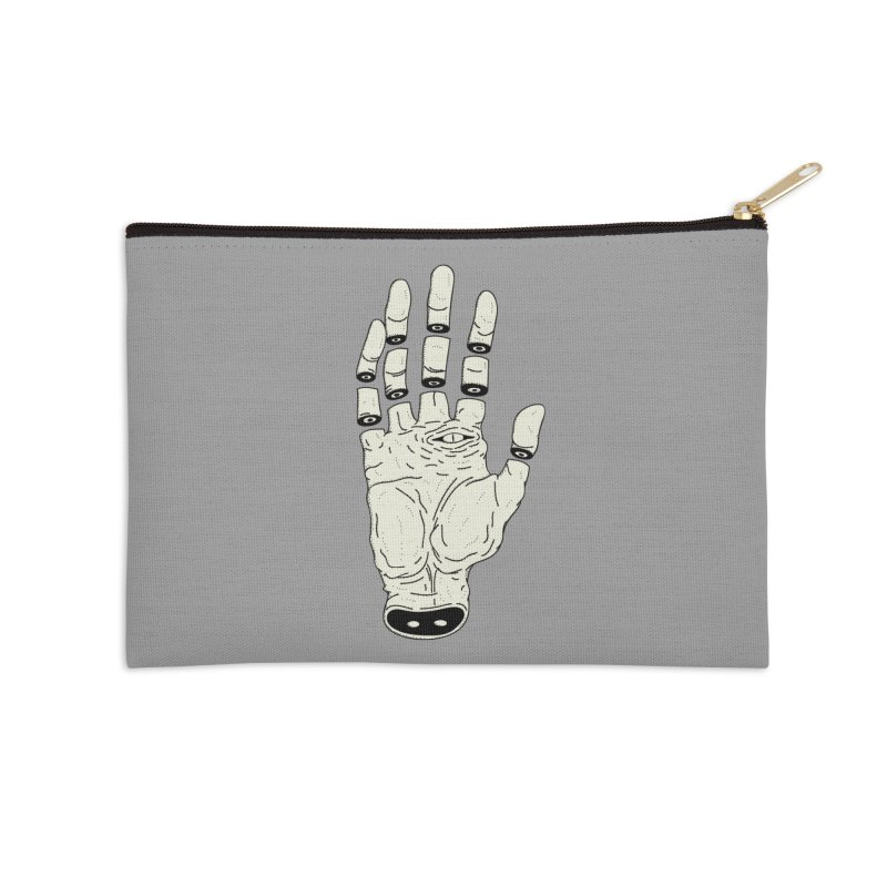 THE HAND OF ANOTHER DESTINY - LA MANO DEL OTRO DESTINO Accessories Zip Pouch by UNDEAD MISTER