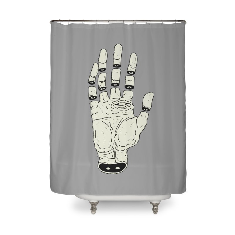 THE HAND OF ANOTHER DESTINY - LA MANO DEL OTRO DESTINO Home Shower Curtain by UNDEAD MISTER