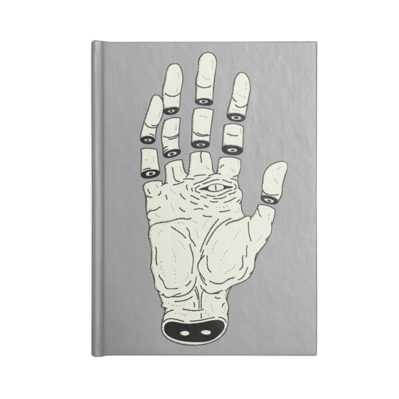 THE HAND OF ANOTHER DESTINY - LA MANO DEL OTRO DESTINO Accessories Notebook by UNDEAD MISTER