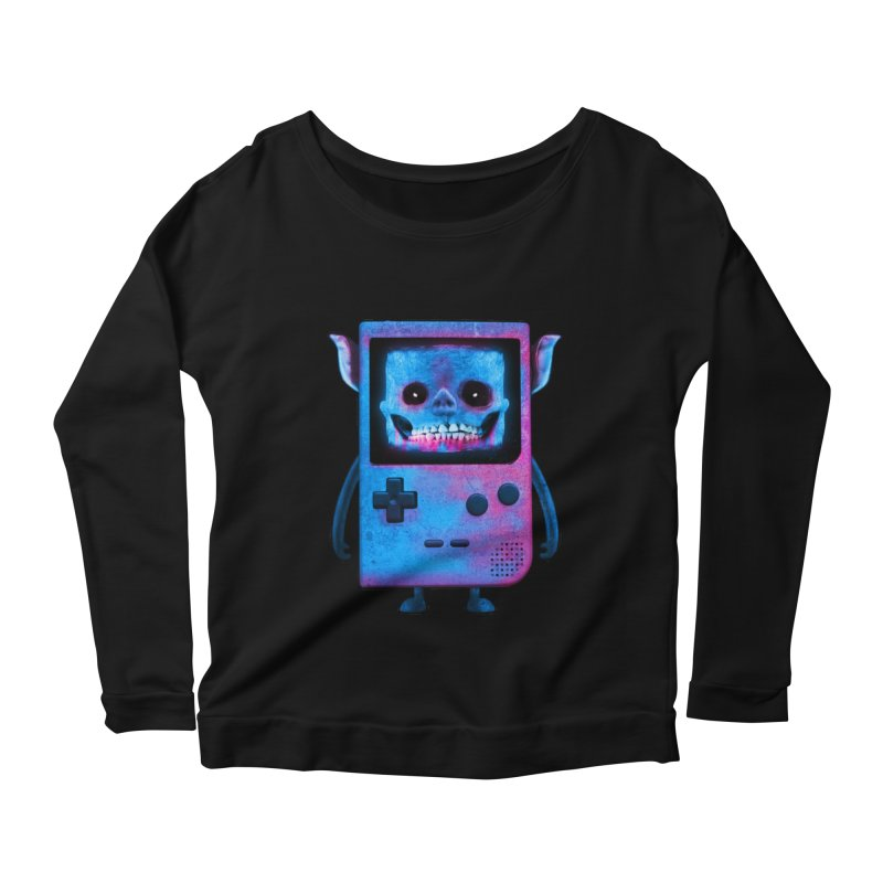 UNDEAD BOY Women's Longsleeve Scoopneck  by UNDEAD MISTER
