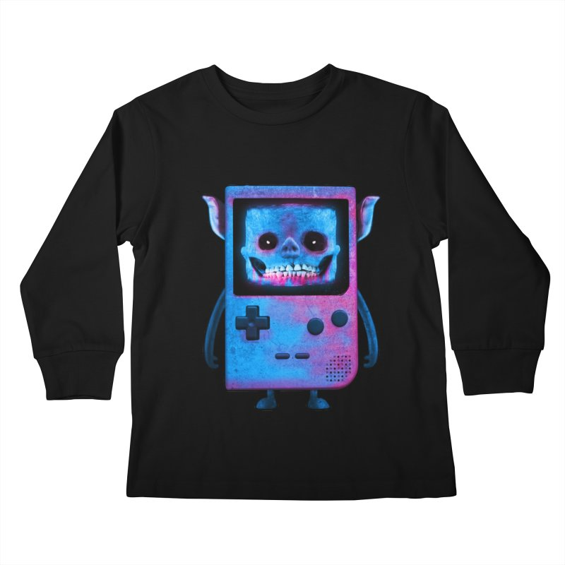 UNDEAD BOY Kids Longsleeve T-Shirt by UNDEAD MISTER