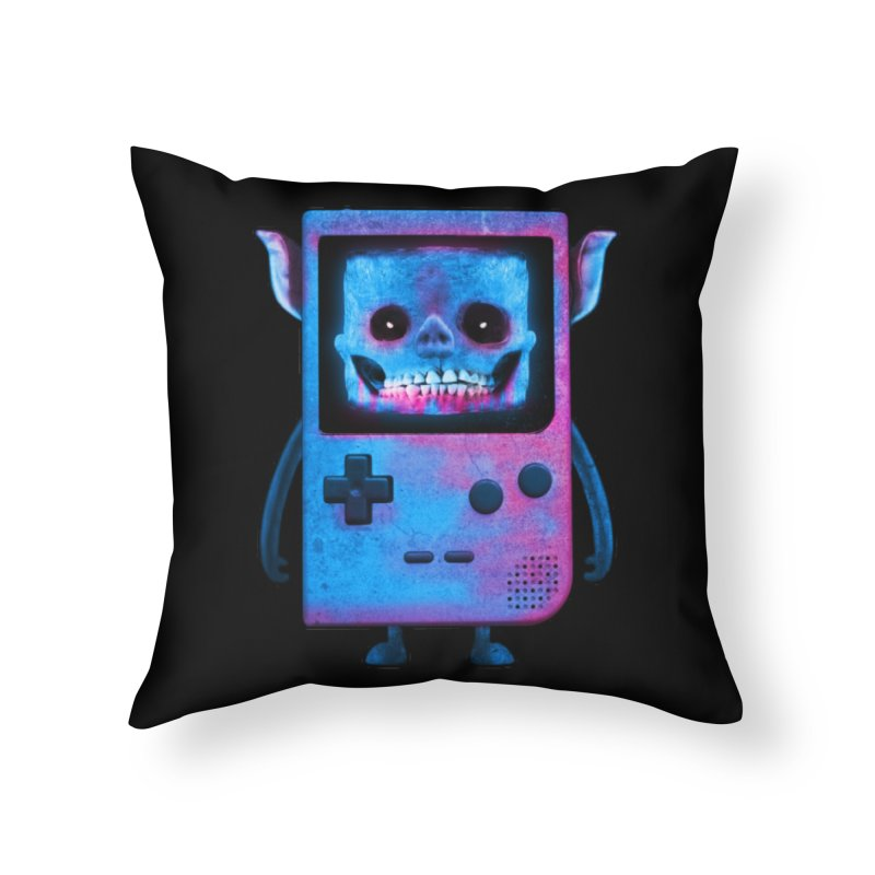 UNDEAD BOY Home Throw Pillow by UNDEAD MISTER