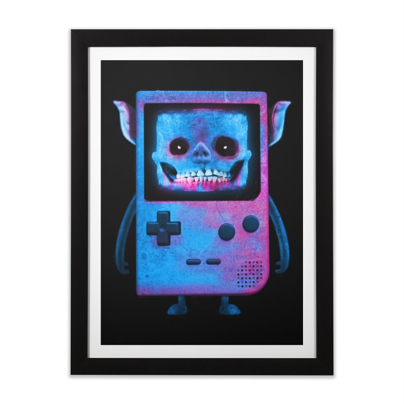 UNDEAD BOY Home Framed Fine Art Print by UNDEAD MISTER