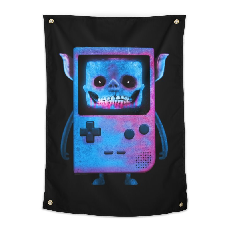 UNDEAD BOY Home Tapestry by UNDEAD MISTER