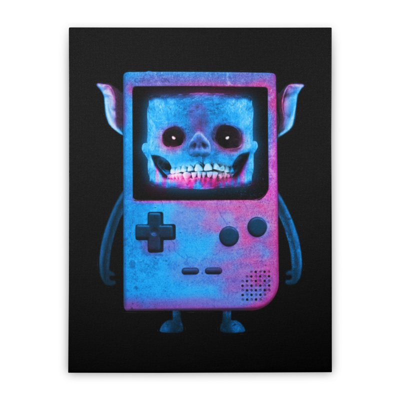 UNDEAD BOY Home Stretched Canvas by UNDEAD MISTER