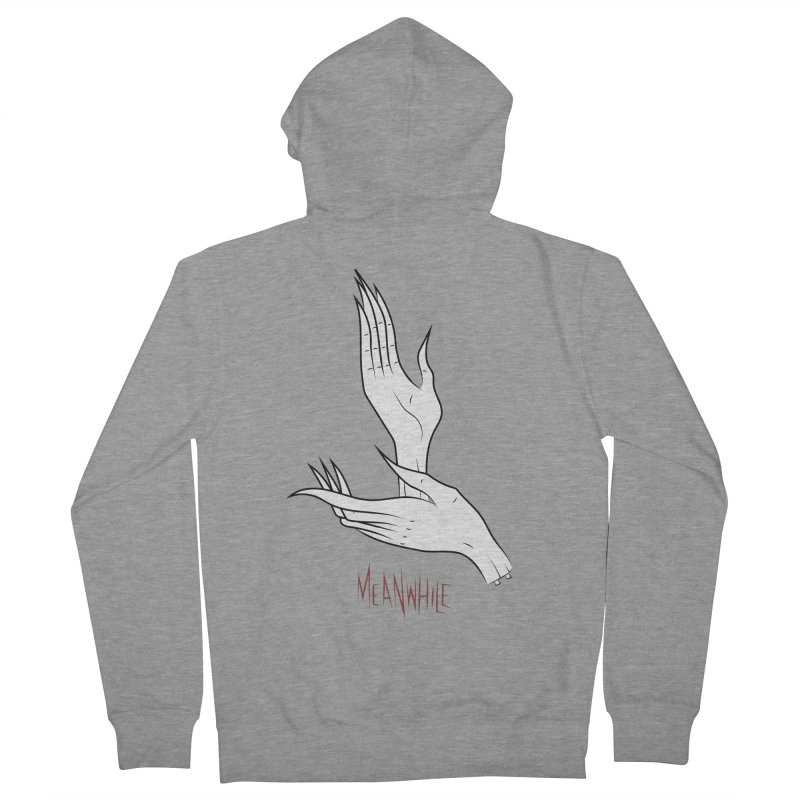MEANWHILE Women's Zip-Up Hoody by UNDEAD MISTER