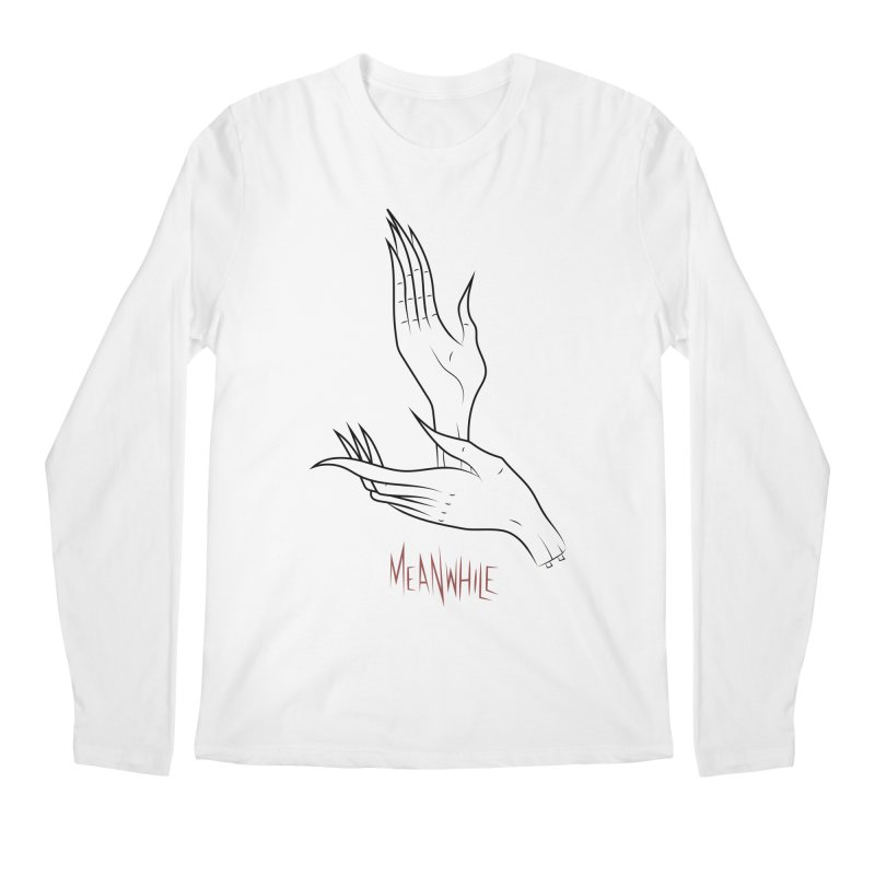 MEANWHILE Men's Longsleeve T-Shirt by UNDEAD MISTER