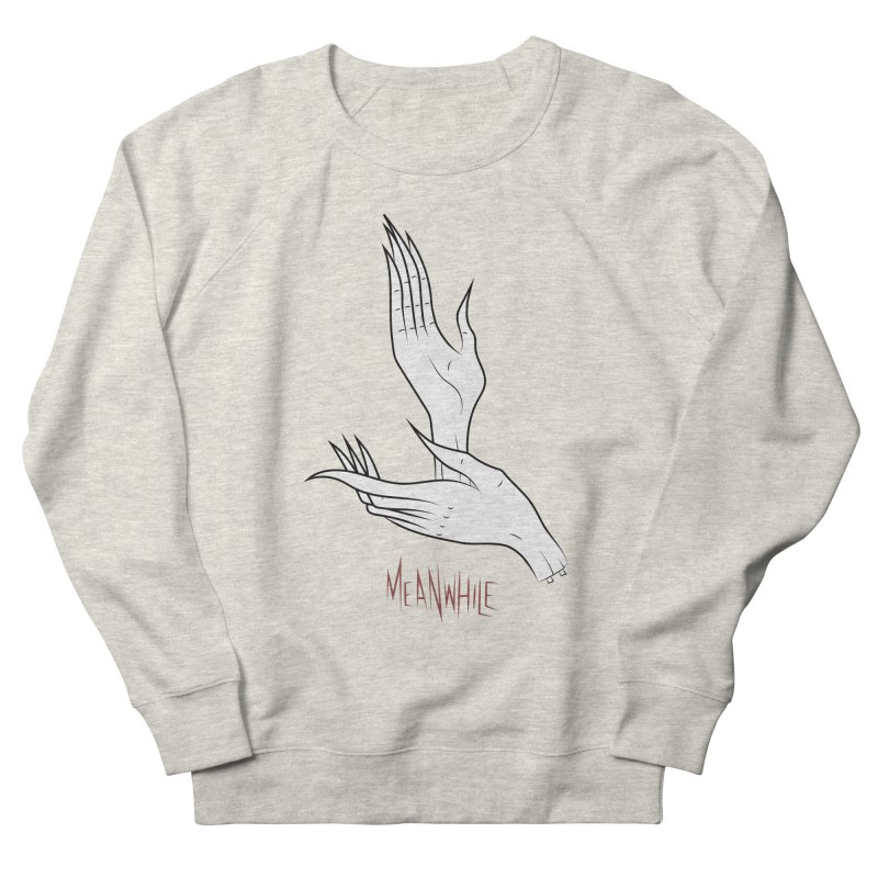 MEANWHILE Women's Sweatshirt by UNDEAD MISTER