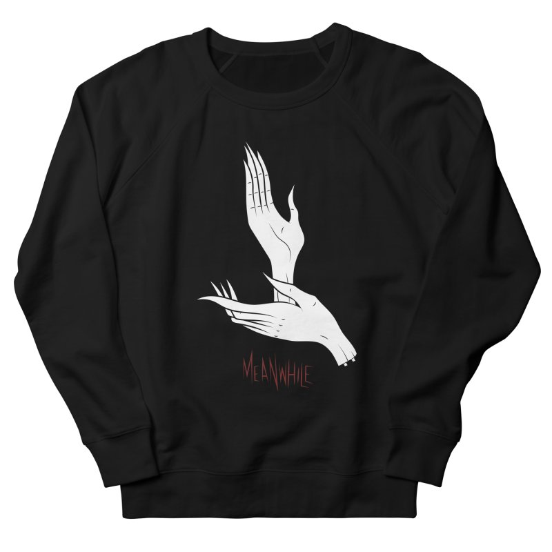 MEANWHILE Men's Sweatshirt by UNDEAD MISTER