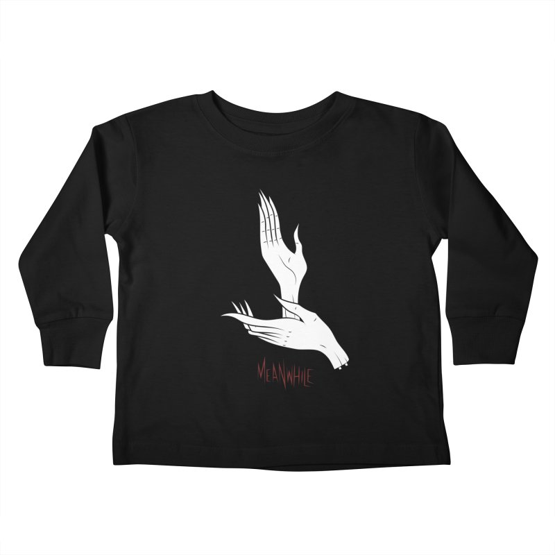 MEANWHILE Kids Toddler Longsleeve T-Shirt by UNDEAD MISTER