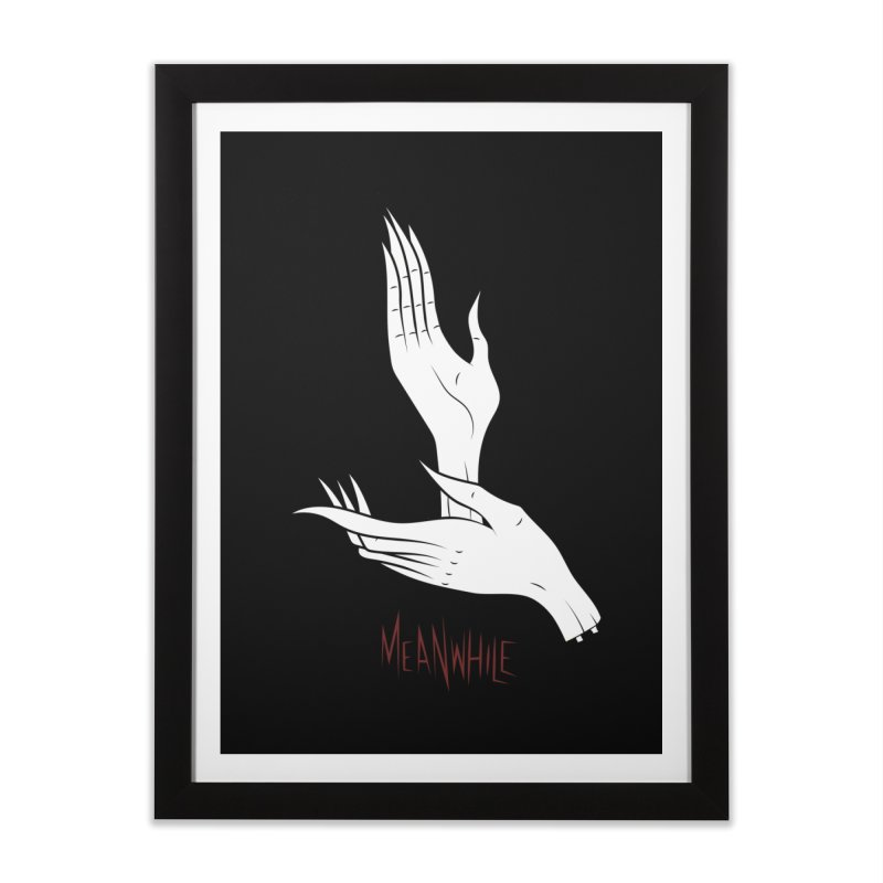 MEANWHILE Home Framed Fine Art Print by UNDEAD MISTER