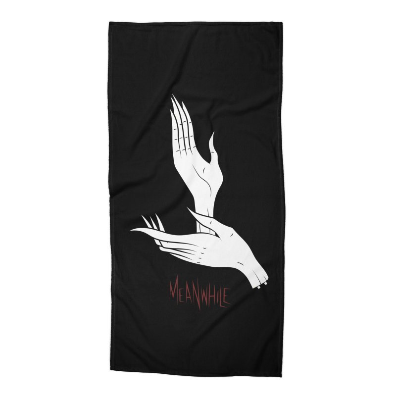 MEANWHILE Accessories Beach Towel by UNDEAD MISTER