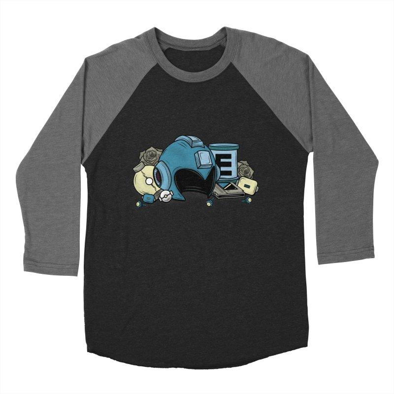 20XX HERO Men's Baseball Triblend T-Shirt by UNDEAD MISTER