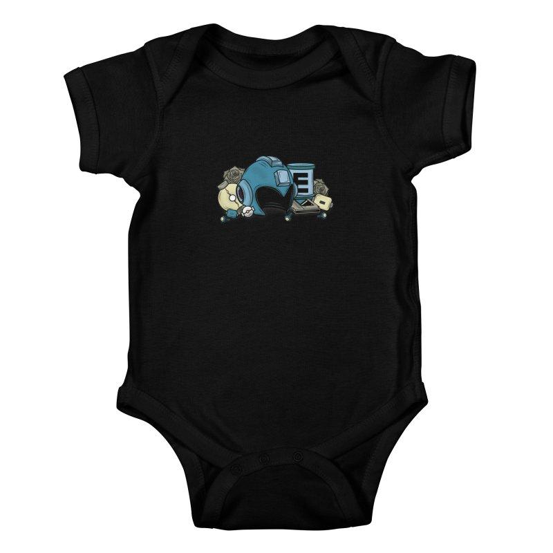 20XX HERO Kids Baby Bodysuit by UNDEAD MISTER