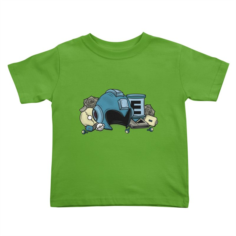 20XX HERO Kids Toddler T-Shirt by UNDEAD MISTER