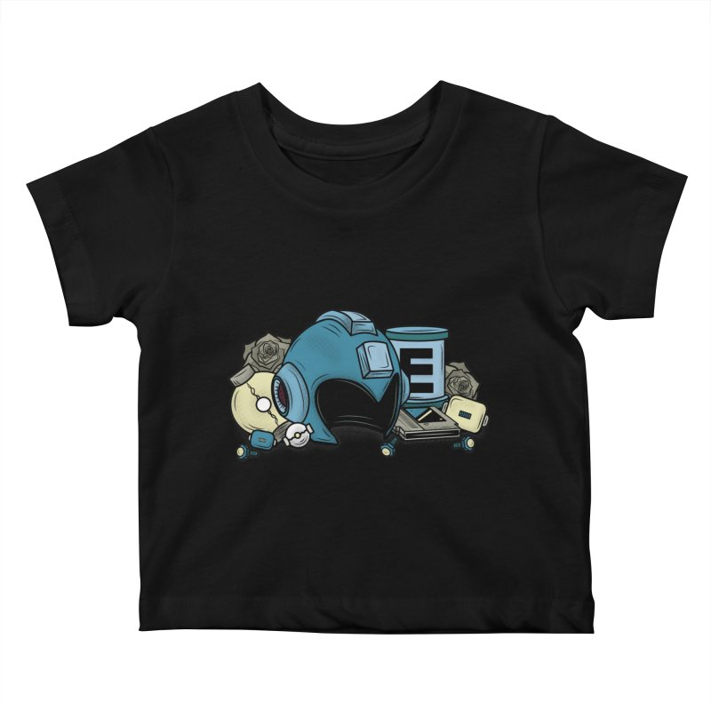 20XX HERO Kids Baby T-Shirt by UNDEAD MISTER