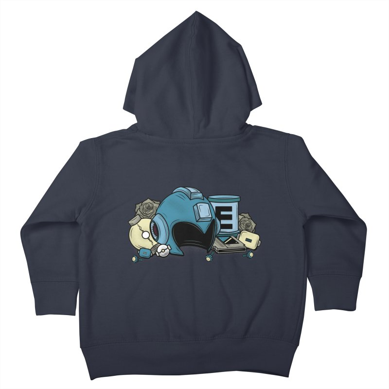 20XX HERO Kids Toddler Zip-Up Hoody by UNDEAD MISTER