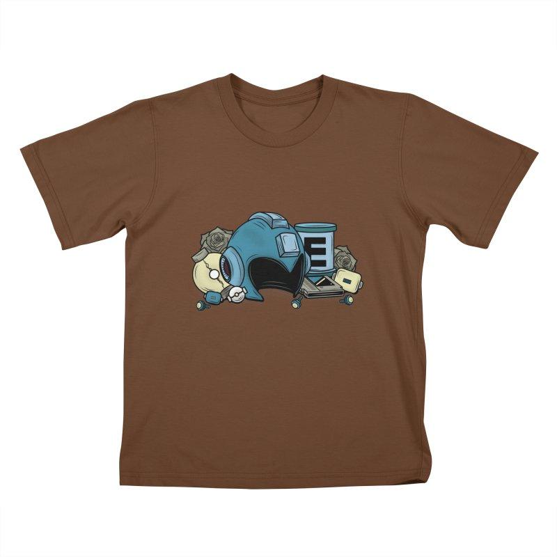 20XX HERO Kids T-shirt by UNDEAD MISTER